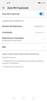 Configura el hotspot móvil - Huawei Nova 5T - Passo 10