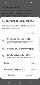 Modo de ahorro de batería - Samsung S10+ - Passo 7