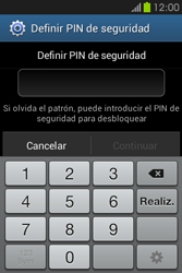 Desbloqueo del equipo por medio del patrón - Samsung Galaxy Fame GT - S6810 - Passo 12