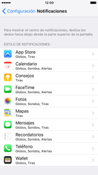 Personalizar notificaciones - Apple iPhone 7 - Passo 3