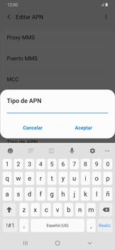 Configura el Internet - Samsung Galaxy A50 - Passo 14