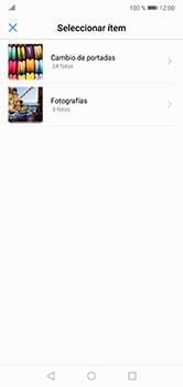Envía fotos, videos y audio por mensaje de texto - Huawei P20 Lite - Passo 13