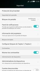 Desbloqueo del equipo por medio del patrón - Huawei G Play Mini - Passo 4
