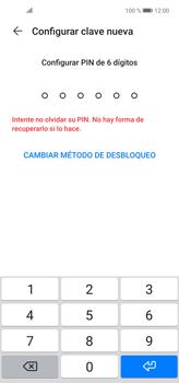 Cómo cambiar el código de bloqueo de pantalla de tu teléfono - Huawei P40 Lite - Passo 5