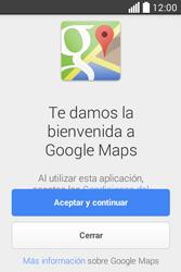 Uso de la navegación GPS - LG L40 - Passo 4