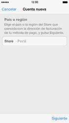Crea una cuenta - Apple iPhone 5s - Passo 8