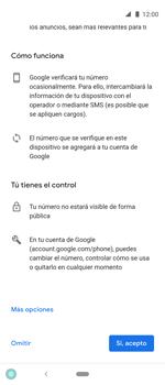 Crea una cuenta - Motorola One Vision (Single SIM) - Passo 13