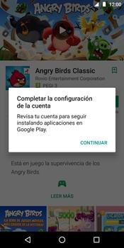 Instala las aplicaciones - Motorola Moto E5 - Passo 16