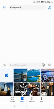 Envía fotos, videos y audio por mensaje de texto - Huawei Mate 10 Lite - Passo 7