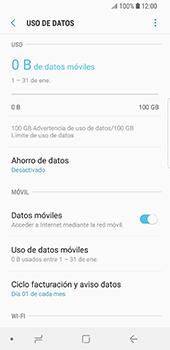 Desactivación límite de datos móviles - Samsung Galaxy S9 - Passo 6