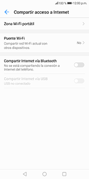 Comparte la conexión de datos con una PC - Huawei Mate 10 Lite - Passo 5