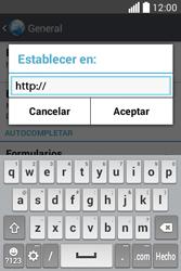 Configura el Internet - LG L40 - Passo 25