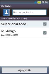 Envía fotos, videos y audio por mensaje de texto - Motorola MotoSmart Me  XT303 - Passo 5