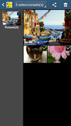 Transferir fotos vía Bluetooth - Samsung Galaxy Zoom S4 - C105 - Passo 8