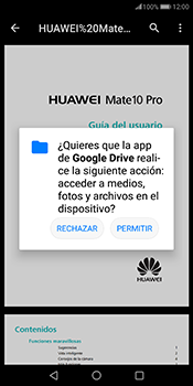 Descargar contenido de la nube - Huawei Mate 10 Pro - Passo 10