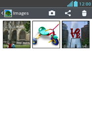 Transferir fotos vía Bluetooth - LG Optimus L3 II - Passo 5