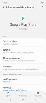 Limpieza de aplicación - Samsung Galaxy A51 - Passo 5