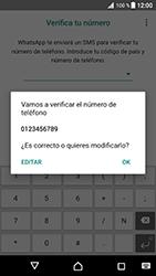 Configuración de Whatsapp - Sony Xperia XZ Premium - Passo 9