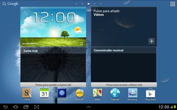 Activa el equipo - Samsung Galaxy Note 10-1 - N8000 - Passo 1