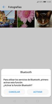 Transferir fotos vía Bluetooth - Huawei Y7 (2018) - Passo 10