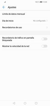 Desactivación límite de datos móviles - Huawei Y7 2019 - Passo 6