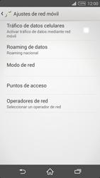 Desactiva tu conexión de datos - Sony Xperia Z2 D6503 - Passo 7