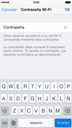 Configura el hotspot móvil - Apple iPhone 5c - Passo 6