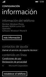 Restaura la configuración de fábrica - Nokia Lumia 530 - Passo 5