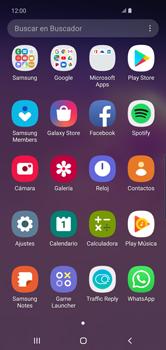 Usar WhatsApp - Samsung S10+ - Passo 2