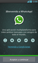Configuración de Whatsapp - LG Optimus L5 II - Passo 4