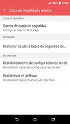 Restaura la configuración de fábrica - HTC Desire 530 - Passo 5