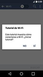 Configura el WiFi - LG K4 - Passo 5