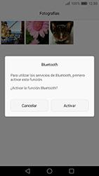 Transferir fotos vía Bluetooth - Huawei P9 Lite Venus - Passo 10
