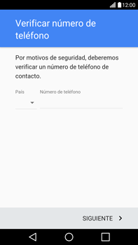Crea una cuenta - LG V10 - Passo 6