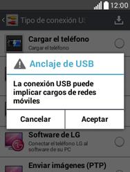 Comparte la conexión de datos con una PC - LG L20 - Passo 7