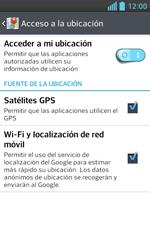 Uso de la navegación GPS - LG Optimus L5 II - Passo 9