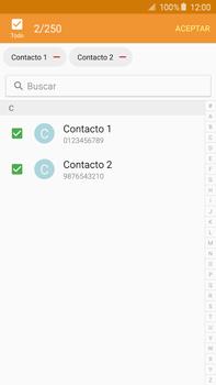 ¿Tu equipo puede copiar contactos a la SIM card? - Samsung Galaxy Note 5 - N920 - Passo 11