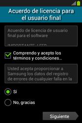 Activa el equipo - Samsung Galaxy Fame Lite - S6790 - Passo 8