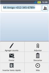 Envía fotos, videos y audio por mensaje de texto - Motorola MotoSmart Me  XT303 - Passo 8