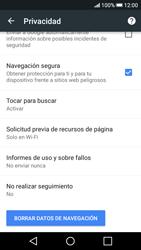 Limpieza de explorador - HTC Desire 626s - Passo 12