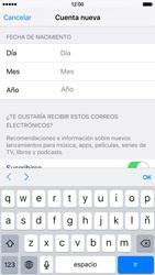 Crea una cuenta - Apple iPhone 6s - Passo 14