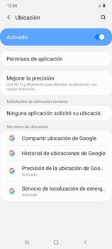 Cómo habilitar el GPS en tu teléfono - Samsung Galaxy S10 Lite - Passo 5
