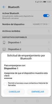 Conecta con otro dispositivo Bluetooth - Huawei Y7 (2018) - Passo 7
