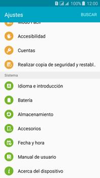 Restaura la configuración de fábrica - Samsung Galaxy J7 - J700 - Passo 4