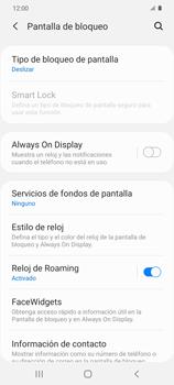 Cómo activar Always on Display - Samsung Galaxy S20 - Passo 5