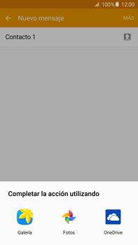 Envía fotos, videos y audio por mensaje de texto - Samsung Galaxy Note 5 - N920 - Passo 17