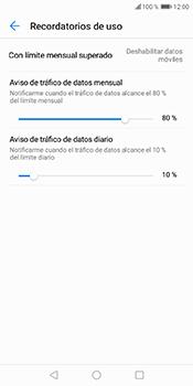 Desactivación límite de datos móviles - Huawei Y6 2018 - Passo 7