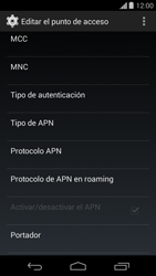 Configura el Internet - Motorola Moto G - Passo 12