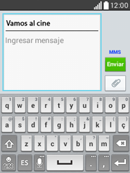 Envía fotos, videos y audio por mensaje de texto - LG L20 - Passo 11