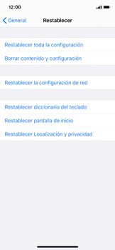 Restaura la configuración de fábrica - Apple iPhone XS - Passo 5
